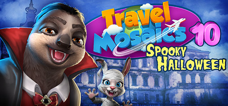 Travel Mosaics 10 Spooky Halloween Free Download PC Game