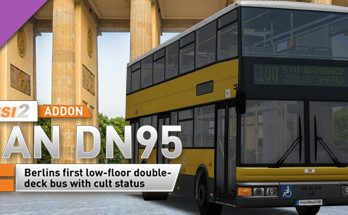 OMSI 2 Add-on MAN DN95 Free Download PC Game